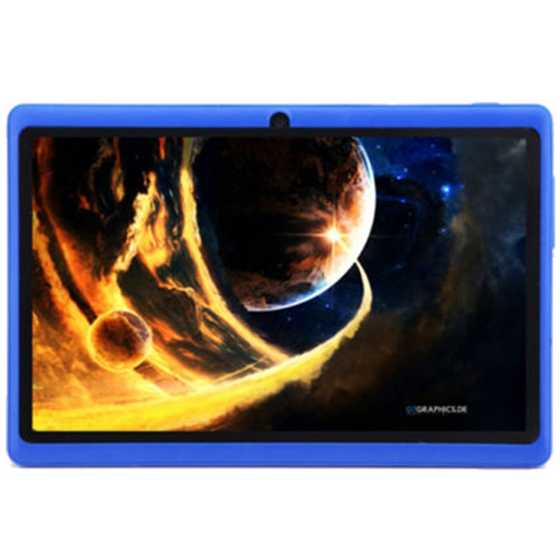 Pantalla táctil de 7 pulgadas HD Android 4,4 Quad Core Dual Cámara Tablet PC