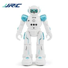 JJRC R11 RC Robot CADY WIKE Gesture Sensing Touch Intelligent Programmable Walking Dancing Smart Robot Toy for Children Toys(China)