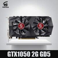 Видеокарта GTX1050 GPU графическая карта 2 г DDR5 игровой добыча карты мгновенно убить GTX950, GTX750, GTX650 для nvidia Geforce Gtx игры