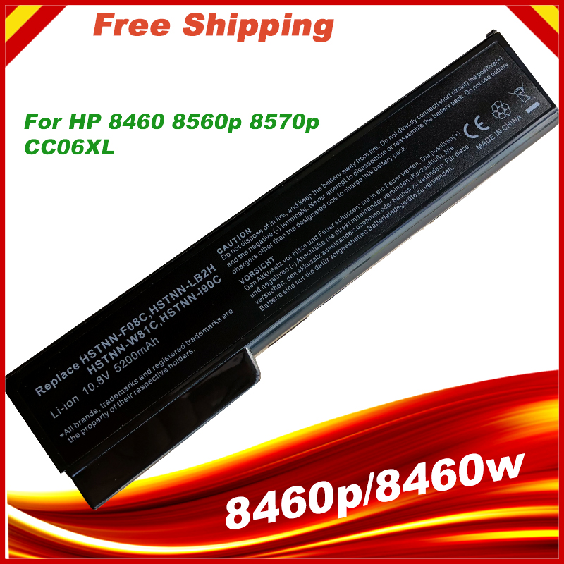 HSW <font><b>Battery</b></font> For <font><b>HP</b></font> QK639AA QK640AA QK642AA QK643AA ST09 6360T For <font><b>EliteBook</b></font> 8460p 8470p 8470w 8560p <font><b>8570p</b></font> 8570w 8760p 8760w image