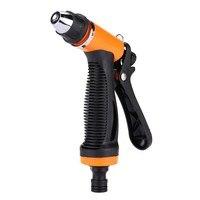 Portable car wash pump 130PSI High Pressure Self Priming Spray Washer sprayer kit for watering flowers, washing bathroom, clea