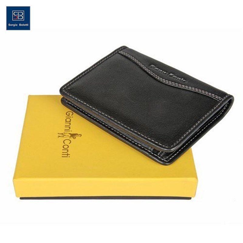 Coin Purse Gianni Conti 587617 black new fashion purse wallet female famous brand card holders cellphone pocket gifts for women money bag clutch coin purse ladies