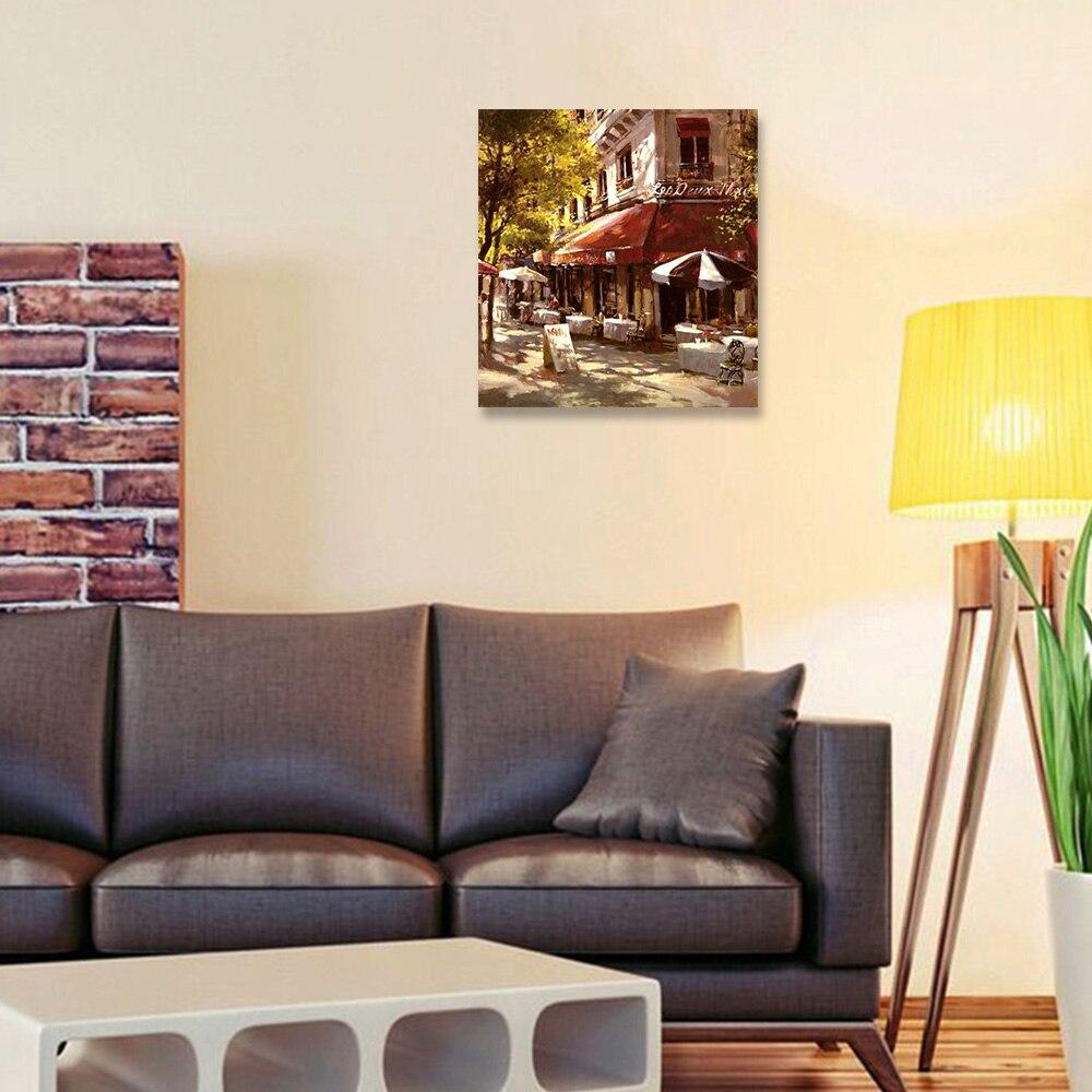 Die coffe shop Bilder Auf Leinwand Gerahmte Wand Bilder Kunst Für ...