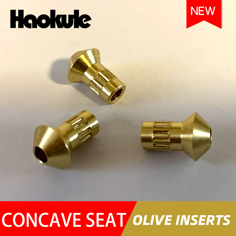 Image 3 - HAOKULE Brake Fitting Concave seat Olive Inserts-in Brake Hoses & Accessoires from Automobiles & Motorcycles