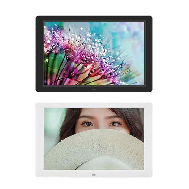 ALLOYSEED 12.1 Inch Digital Photo Frame HD 1280x800 LED Display Back-light Electronic Album Picture Music Video