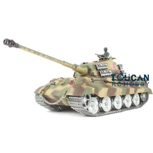 Henglong 1 16 German King Tiger Henschel RTR RC Tank 3888A W Metal Armours THZH0164