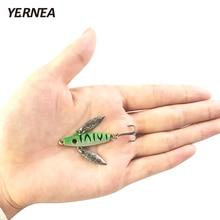 Yernea 1pcs/lot 5cm Winter Fishing Lure Ice Jig Bait Carp high quality hooks Lead Hard Baits Tackle