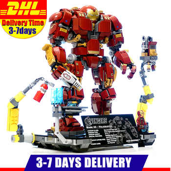 Avengers Super Heroes Iron man Hulk buster Compatible with  Building Blocks Marvel building Brick figure toys for children - DISCOUNT ITEM  30% OFF All Category