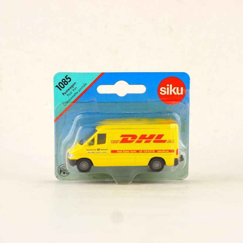 SIKU 1085/Diecast Metal Model Car/DHL Post Van Truck Bus/Educational German Toy for children's gift or collection/Small