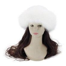 GBCNYIER Mongolia Tipo de imitación de piel de zorro sombrero de piel  invierno 4c3e868a35a1