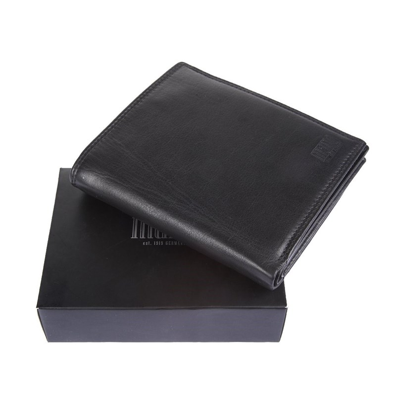 Coin Purse Mano 19019 sutura black