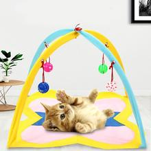 Hammocks Pets-Toys Sleeping-Tent Kitten-Mat Cat-Play-Toy Pet-Cat Foldable Funny