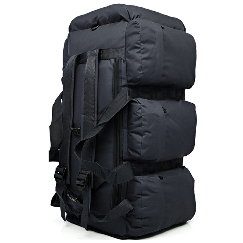 90L  Large Capacity Outdoor Hiking Backpack Military Tactical Pack Camouflage Luggage Bag Camping Tent Quilt Container 9 Pocke90L  Large Capacity Outdoor Hiking Backpack Military Tactical Pack Camouflage Luggage Bag Camping Tent Quilt Container 9 Pocke