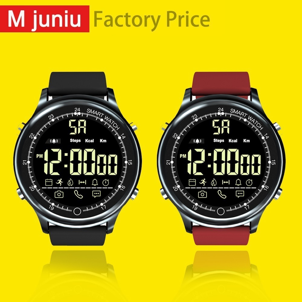 EX28 Sport <font><b>Smart</b></font> <font><b>Watch</b></font> Waterproof IP68 5ATM Passometer Xwatch Swimming Smartwatch for IOS Android Phone PK <font><b>EX18</b></font> X2 Plus clock image