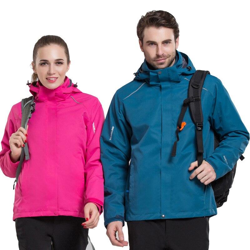 Hommes femmes escalade randonnée veste dstprochable polaire intérieur imperméable ski servir manteau extérieur alpinisme coupe-vent XL 2019
