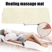 220V Heating Smart Electric Massage Mat Blanket Mattress Vibrating Massage Body Back Neck Muscle Relaxation Sofa Bed Household