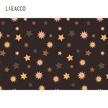 Laeacco Colorful Starts Light Bokeh Backdrop Photography Backgrounds Customized Photographic Backdrops For Photo Studio