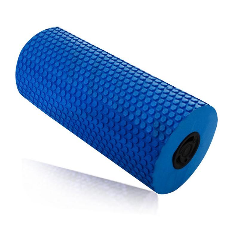 Vibration électrique De Massage De Yoga rouleau en mousse Rechargeable Dossier de Réglage de la Jambe Masseur De Yoga de Remise En Forme Électrique bâton de Massage