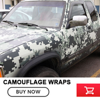 Classic Digital Camouflage wrapping Film Wrap Foil With Air Bubble Free AdhesiveCar Sticker Digital Camo vinyl wrap