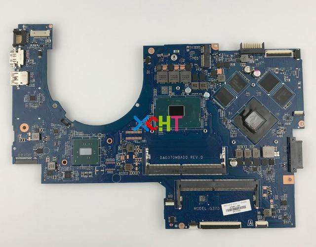 915467 601 915467 001 w 1050/4GB GPU i7 7700HQ CPU DAG37DMBAD0 for HP Notebook 17 ab 17 W 17T W200 17T AB200 Motherboard Tested