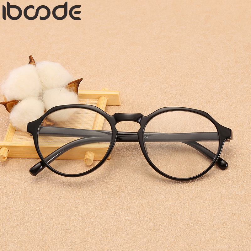Iboode Men Women Ultralight Polygon Reading Glasses Anti Fatigue Reader Eyeglasses Presbyopic Eyewear Computer Goggles Oculos