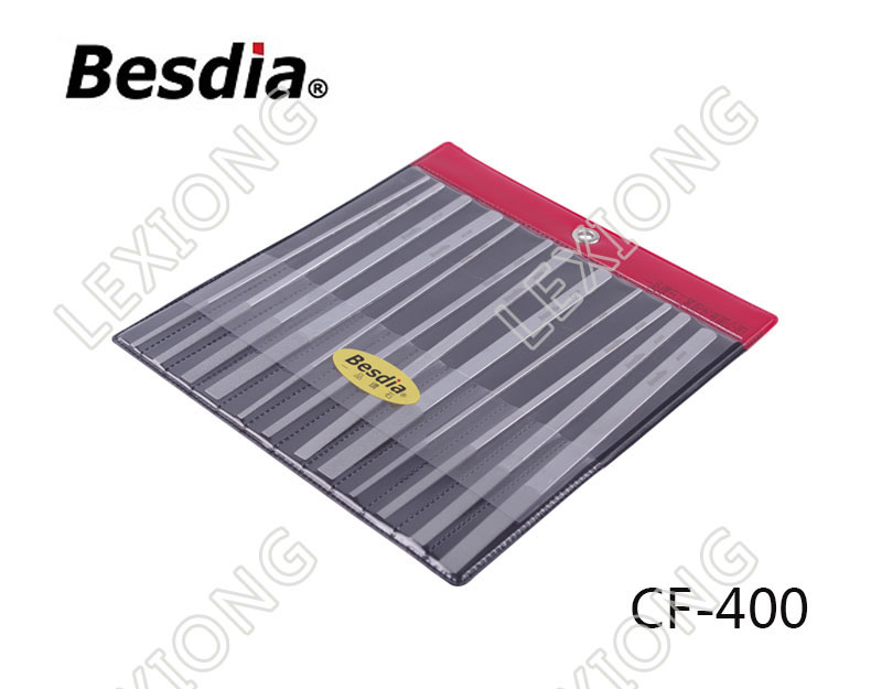 TAIWAN Besdia Diamond Flat Hand ARCHIVOS CF-400 CF-402 CF-404 CF-406 CF-408