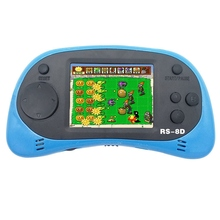 Rs-8D Black+Blue Video Game Console 8 Bit 2.5 Inch Portable Video Handheld Game Player Built-In 260 Retro Game все цены