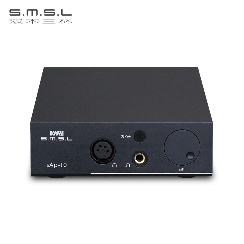 SMSL sAp 10 Balanced desktop headphone AMP two TPA6120A2 Chip RCA/XLR input 6.35mm/Balanced Output