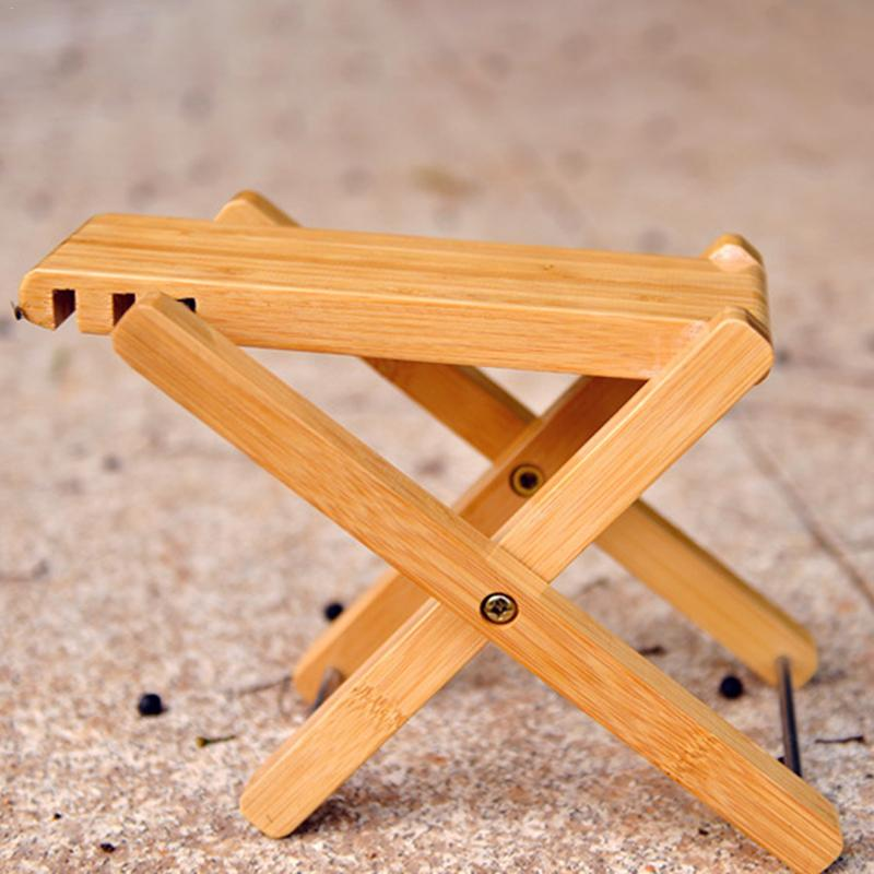 Foldable Wooden Guitar Foot Rest Stool Pedal 4-level Adjustable Height Beech Wood Material For Guitar Players Guitar Parts & Accessories