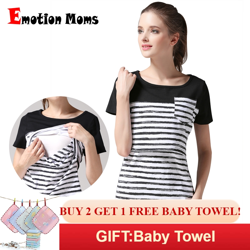 Mother & Kids Blouses &shirts Fast Deliver Soft Comfortable Womens Pregnants Tops Cotton O-neck Solid Color Long Sleeve Nursing Clothes Baby For Maternity T-shirt Clothes