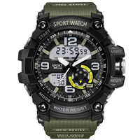 COXRY Digital Watch Military G Style LED Watch Men Sport Shock Mens Watches Top Brand Luxury Led Army Electronic Wrist Watches