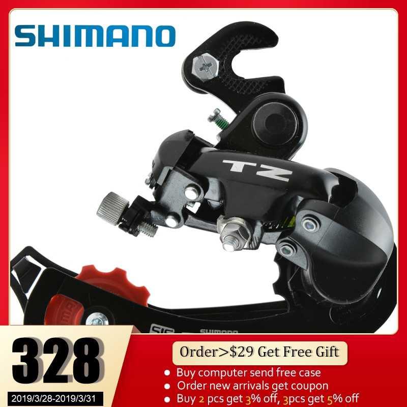 5c9ef3a7618 SHIMANO Tourney RD-TZ50 Rear Derailleur 6/7-speed Hanger Mount MTB Bicycle