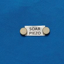 Ультразвуковой Пьезоэлектрический керамический диск 16*1MHz-PZT4 пьезо диски PZT кристаллы Сенсорные элементы чипы, используемые в эстетической сфере