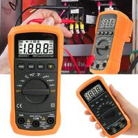 PM8233D automatic digital multimeter portable home tester with LCD display and backlight
