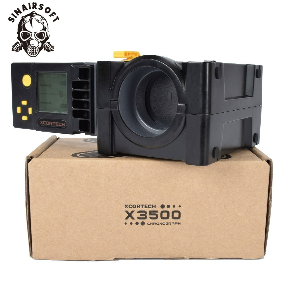 Newest Model High-Poewer Speed Tester LCD Xcortech X3500 Airsoft Shooting  Chronograph For Hunting Paintball Combat Game