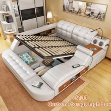 Модные спальные комплекты в современном стиле с массажем и динамиком