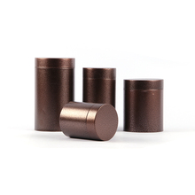 Xin Jia Yi Packaging Tea Tin Metal Box Round Shape Tin Box with Food Grade PP Ba
