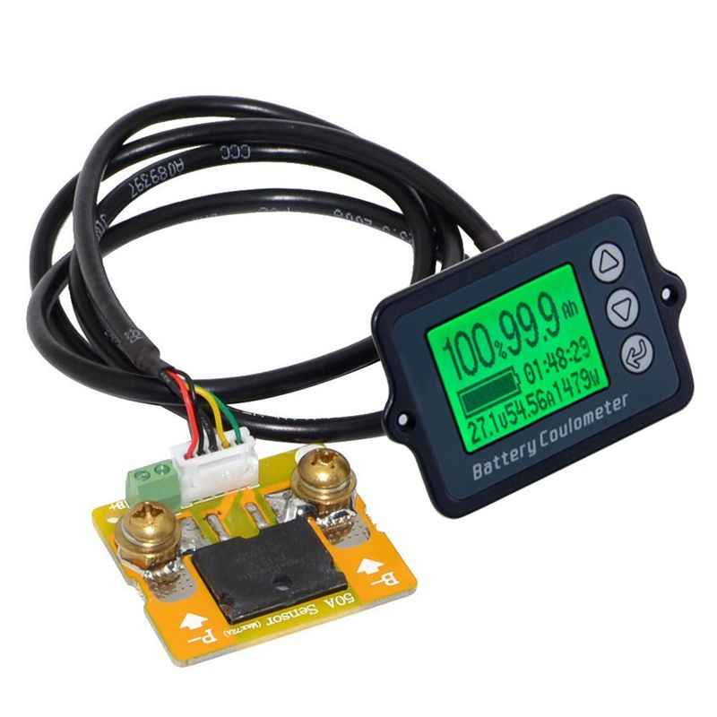 80V 50A Battery Tester TK15 High Precisions LiFePO/Lithium/Lead Acid Battery Testers Coulomb Counter