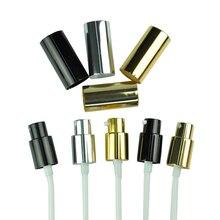 Schwarz/Gold/Silber Parfüm Spray Kappe 5mls 10mls 15mls 20mls 30mls 50 ml parfüm Flasche Sprühnebel Pumpen, behandlung pumpe Metall Sprayer