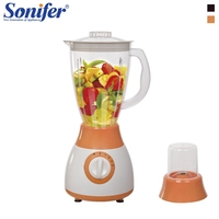 300W Colorful Multifunction electric food blender mixer kitchen 4 speeds standing blender vegetable Meat Grinder blend Sonifer