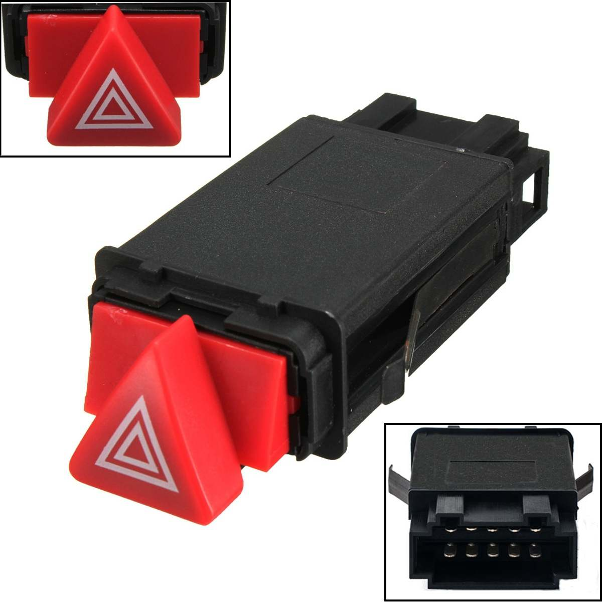Hazard Warning Indicator Light Switch Red Button 4B0941509D For AUDI A6 4B C5(China)