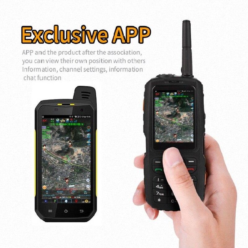 WCDMA 3G IP67 robuste étanche téléphone Mobile extérieur Android WIFI Mini petit talkie-walkie interphone Zello PTT GPS F22 F25 A17