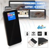 Portable Mobile Broadband WiFi 4G 3G LTE FDD TD 150Mbps MiFi Router