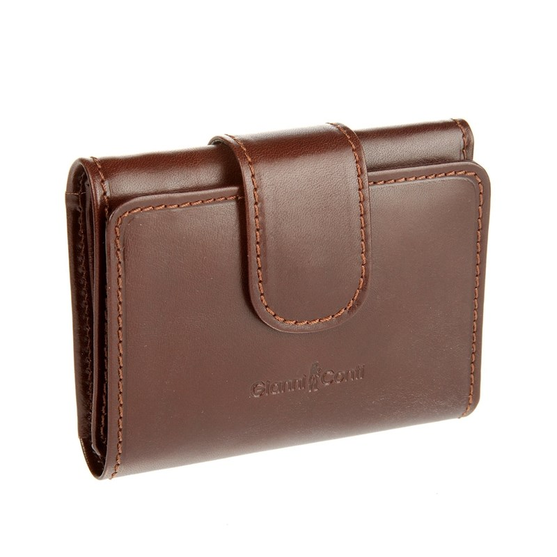 Coin Purse Gianni Conti 908000 Brown