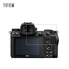 купить 0.3mm 2.5D 9H Clear Tempered Glass Screen Protector for Nikon Z7 Z6 D7500 D7200 D7100 D850 Digital camera Anti-Scratch LCD Film дешево