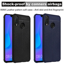 Airbag shockproof For Huawei P Smart Plus Huawei Nova 3I Case Imak Lea