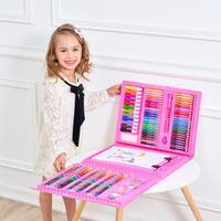 176pcs/set Children Painting Toys Baby Funny Creative Educational Oil Pastels Kids Graffiti Pen Art Gift for girls birthday gift