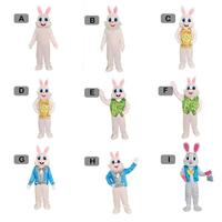 Rabbit Cartoon Doll Costume Adult Wear Walking Rabbit Dress Up Doll Easter Props Interesting Design Publicity Ceremony Party