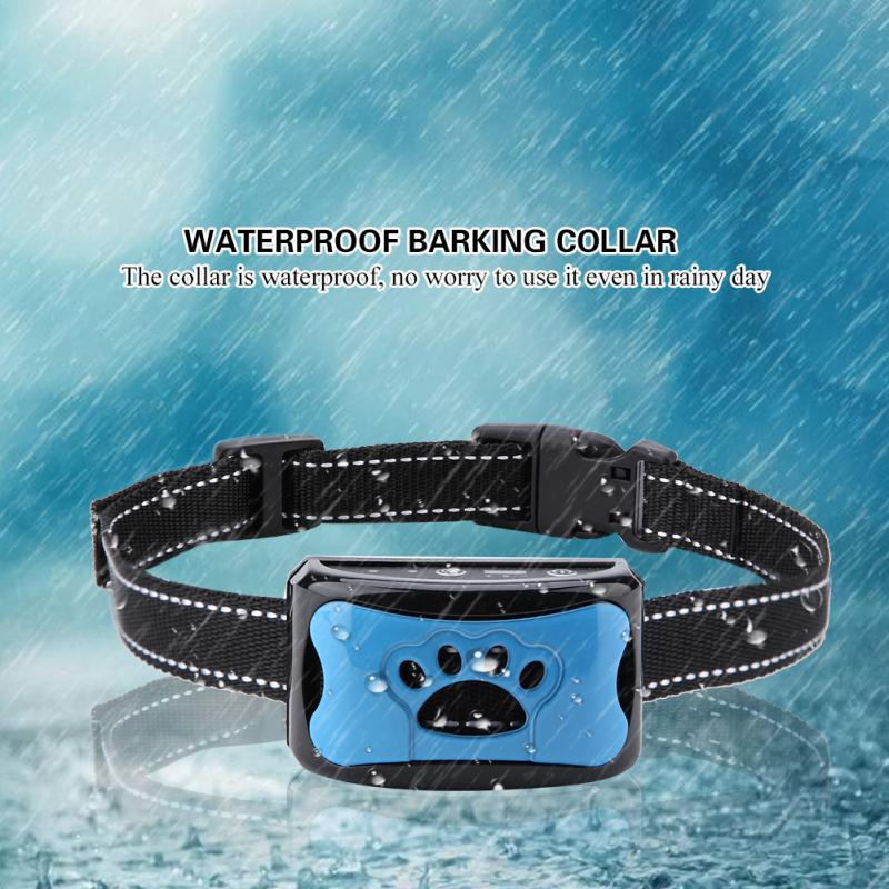 Waterproof and Rechargeable Dog Barking Control Collar with 7 Sensitivity Levels 1