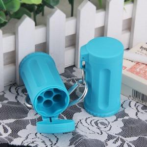 Image 3 - Durable Portable Mini Ashtray Pocket Ashtray Keychain Candy Color Car Ashtray Italy Outdoor Smoking Accessories Beach Ashtray